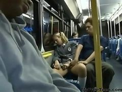amateur sex on bus